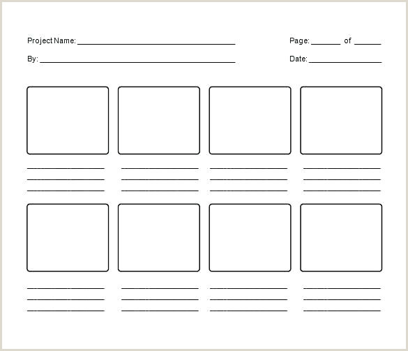 Blank Storyboard Template Pdf Web Storyboard Template For Website Design Templates P