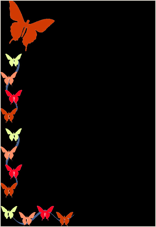 Blue butterfly Border Designs Free Free Corner Borders Download Free Clip Art Free Clip