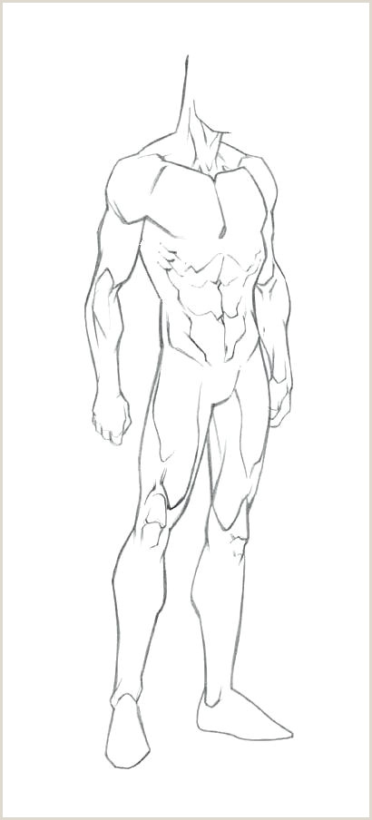 Body Template for Drawing Image Titled Make A Superhero Costume Step Body Template