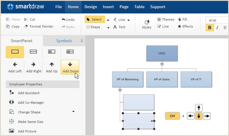 Valid Free Software For Organization Chart Edraw