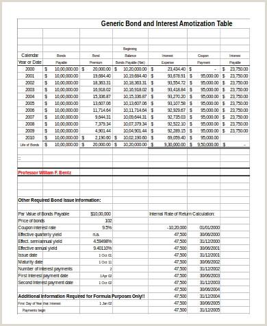 Bond Amortization Schedule Straight Line Method Vimpat Schedule Drug Bond Amortization Schedule Excel