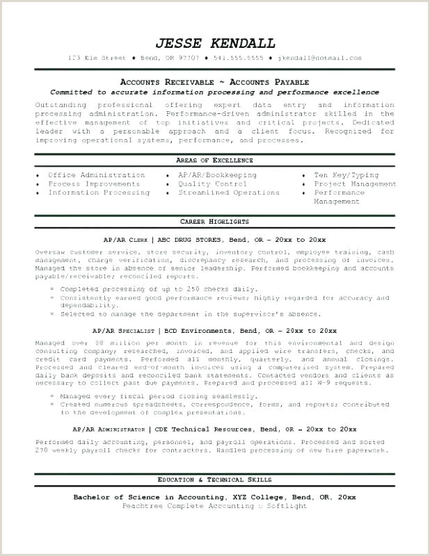 Photo of Bookkeeper Resume Australia