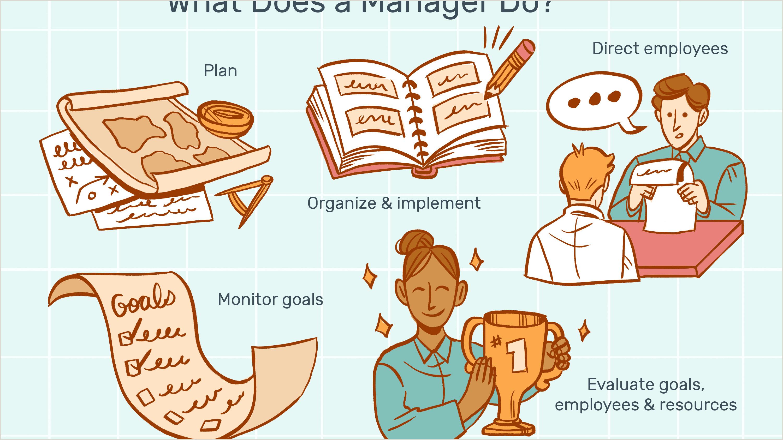 Manager Job Description Salary Skills & More