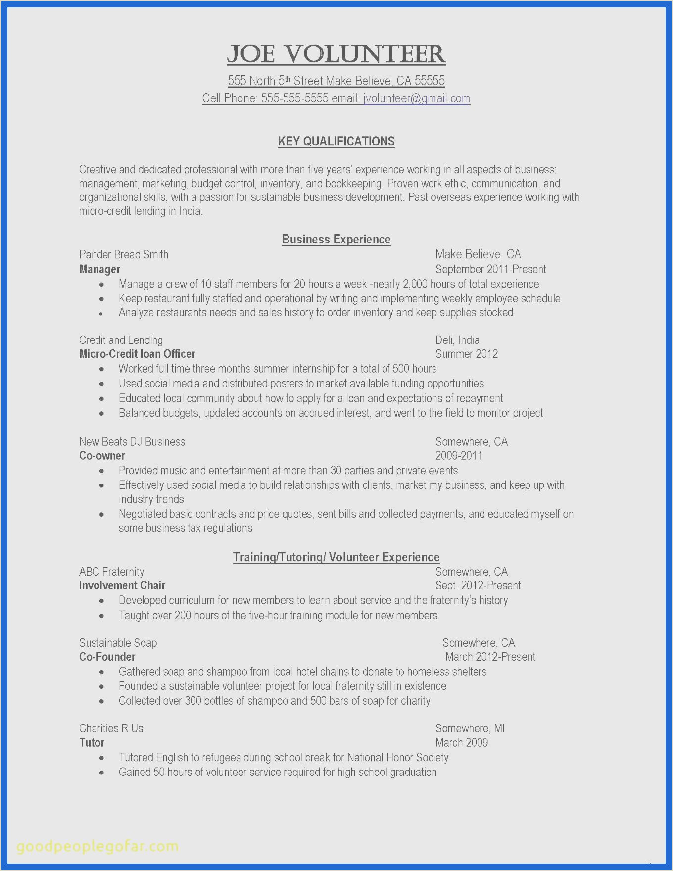 Branch Manager Job Description Volunteer Service form Template