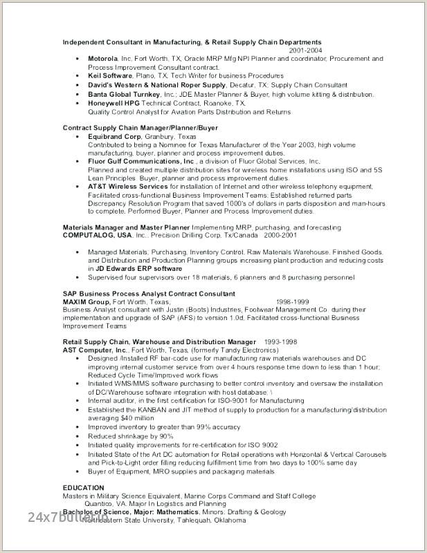 plant manager resume – emelcotest