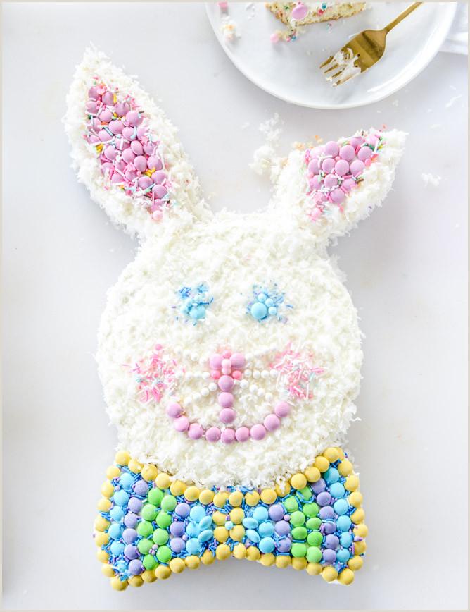Confetti Coconut Classic Bunny Cake