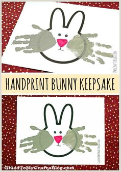 Bunny Paw Print Template Enrichment Activities