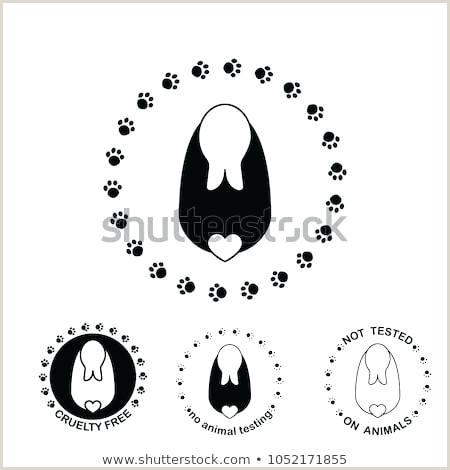 Bunny Paw Print Template Paw Print Outline Printable