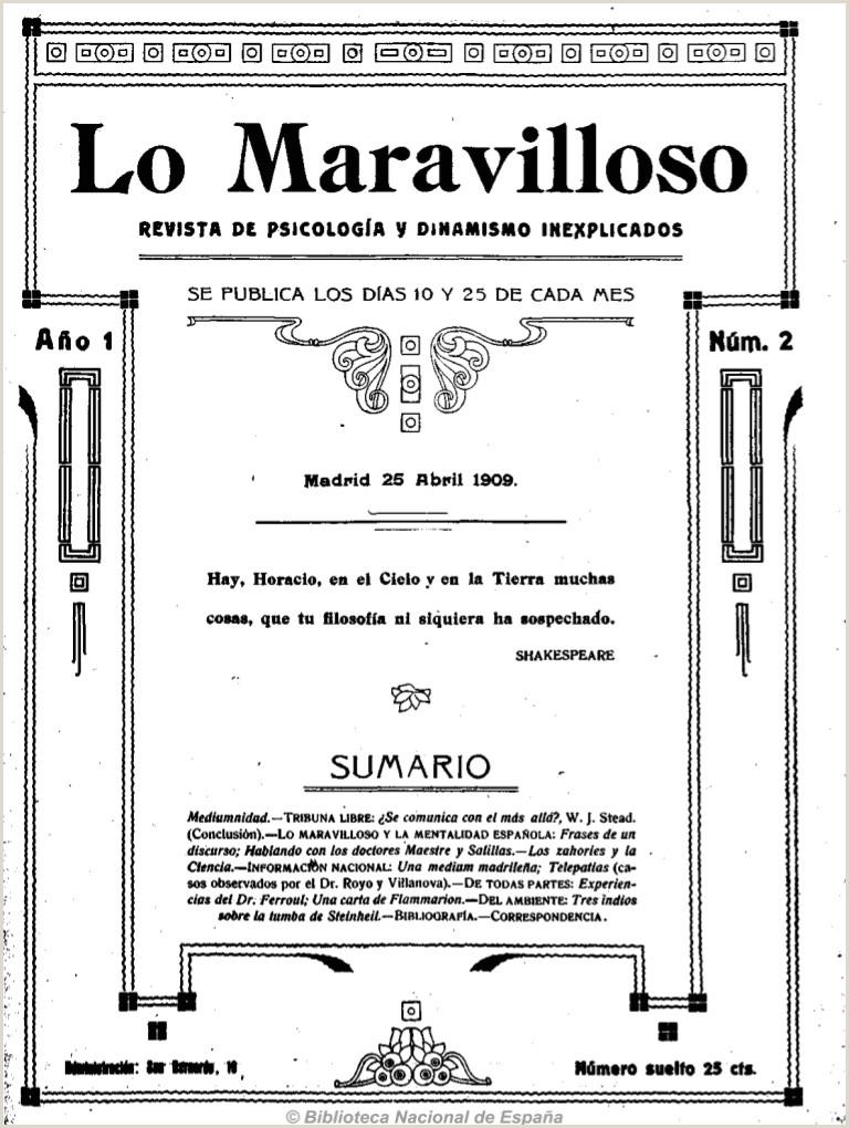 Buscar Hoja De Vida Minerva Lo Maravilloso 25 4 1909 N º 2