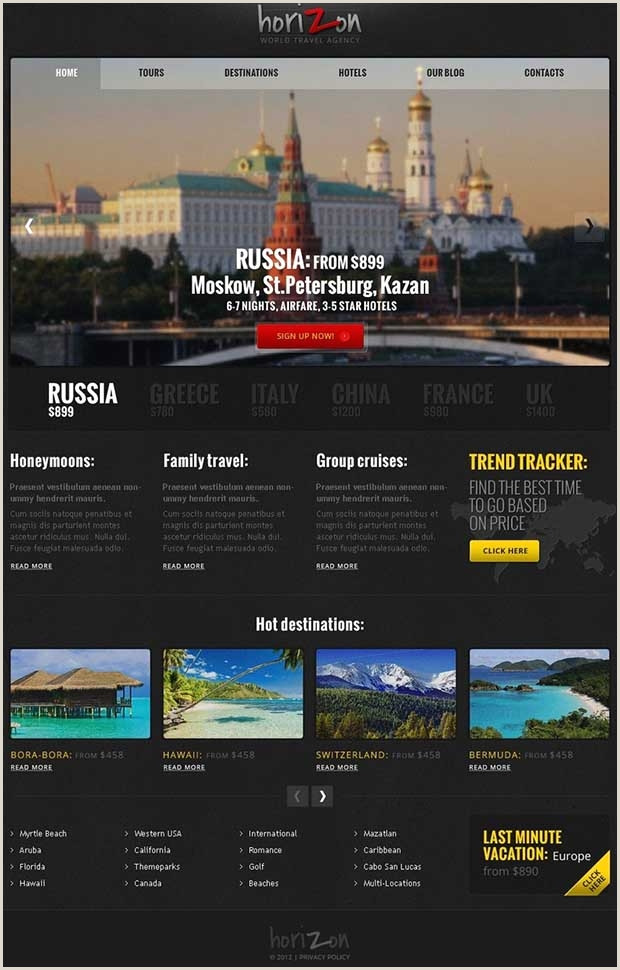 55 Tourism Website Themes & Templates