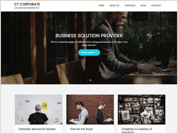 Business Directory Website Template Featured