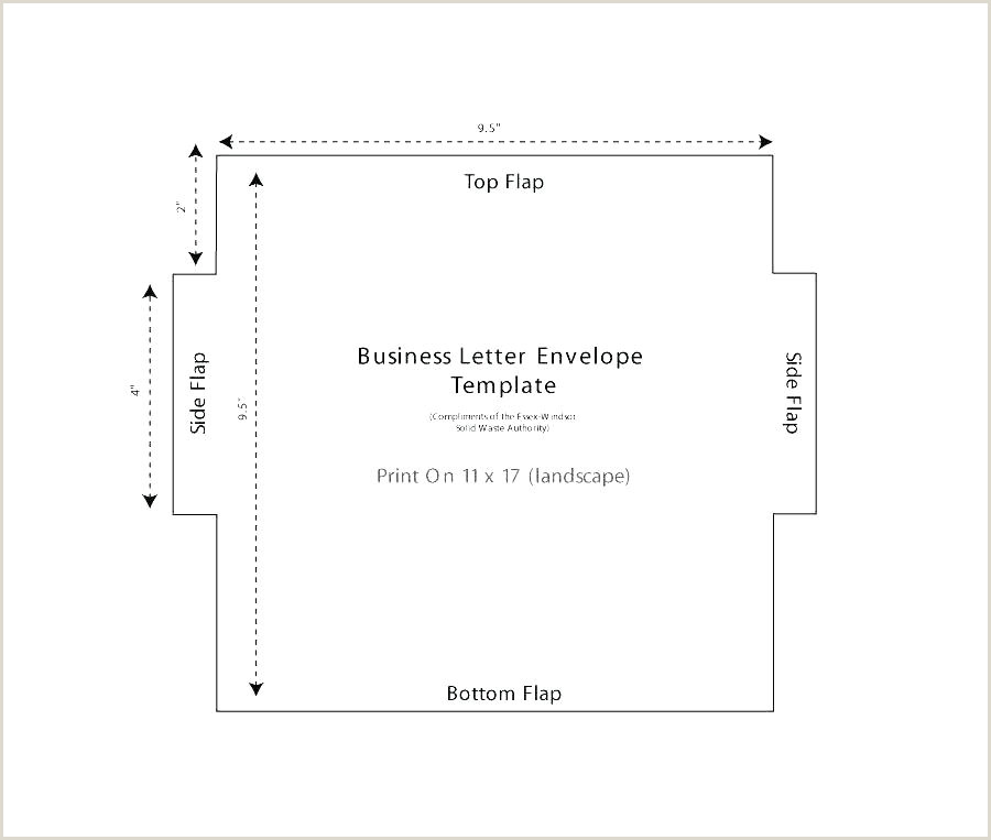 Business Envelope Template Word Office Envelope Template