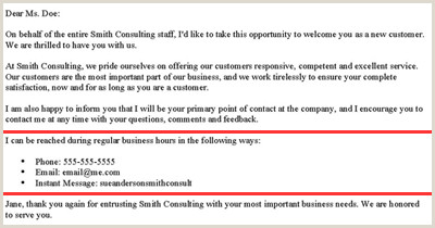 Business Proposal Letter for Distributorship How to Write A New Customer Wel E Letter