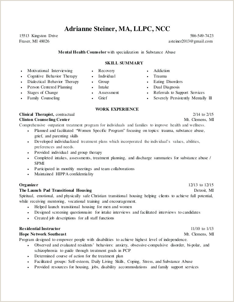 Camp Counselor Job Description for Resume Christian Counselor Cover Letter – Coachyax