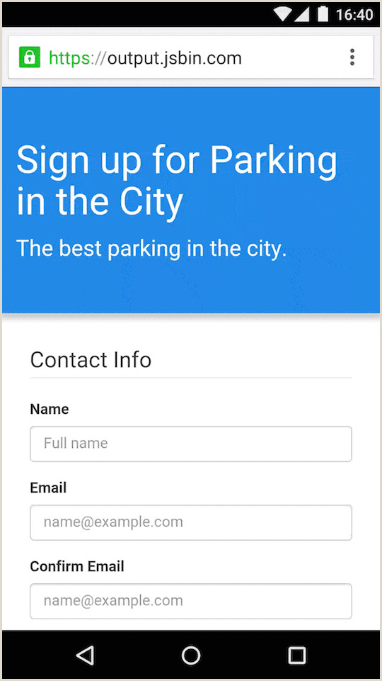 Car Show Registration form Template Help Users Checkout Faster with Autofill Web