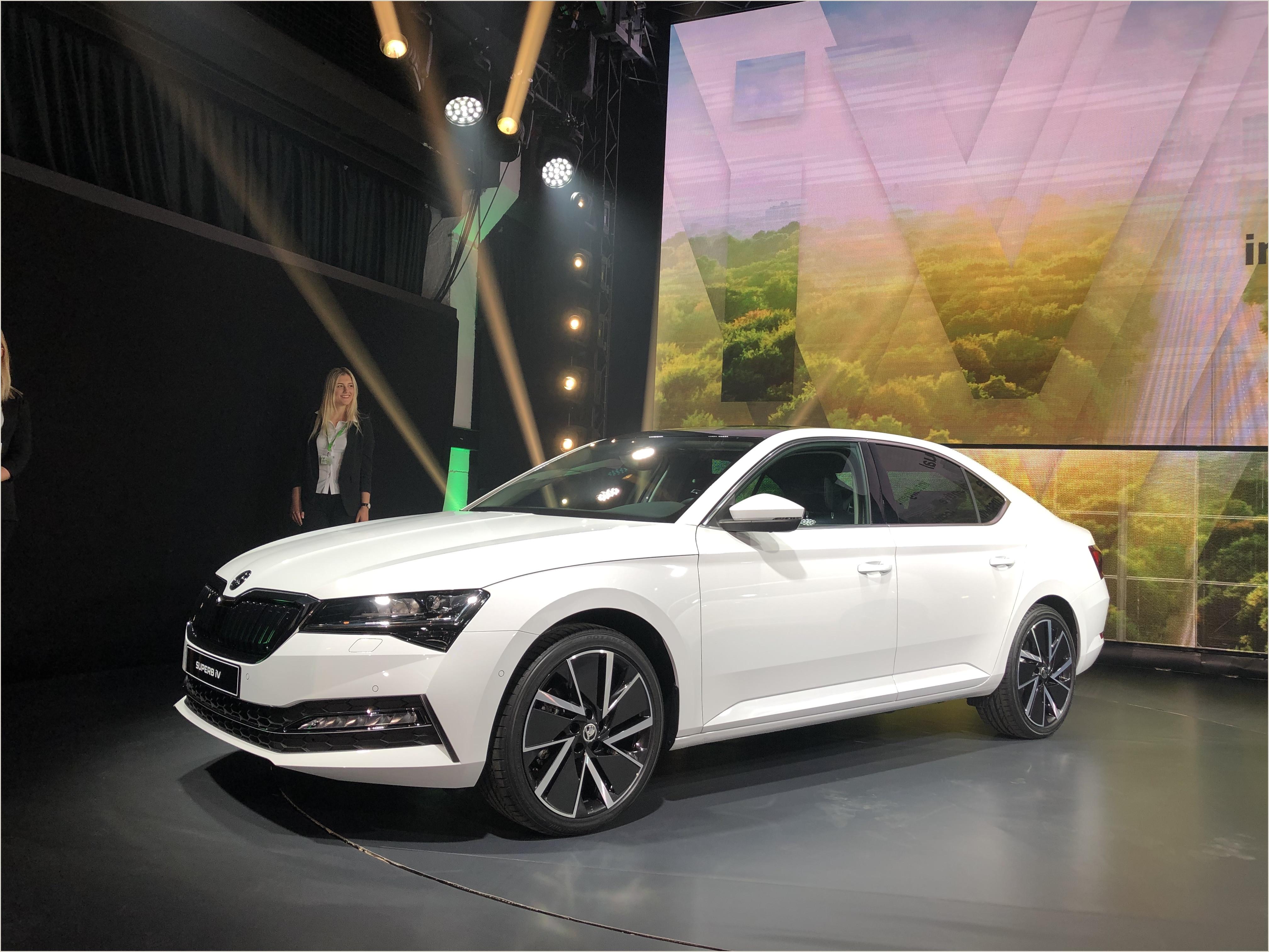 Car Show Registration form Template Skoda Superb 2019 Elle Passe  L Hybride Présentation Vidéo