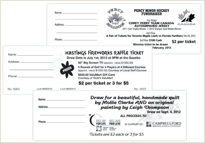 Fundraiser Tickets Template Free Templates Car Wash