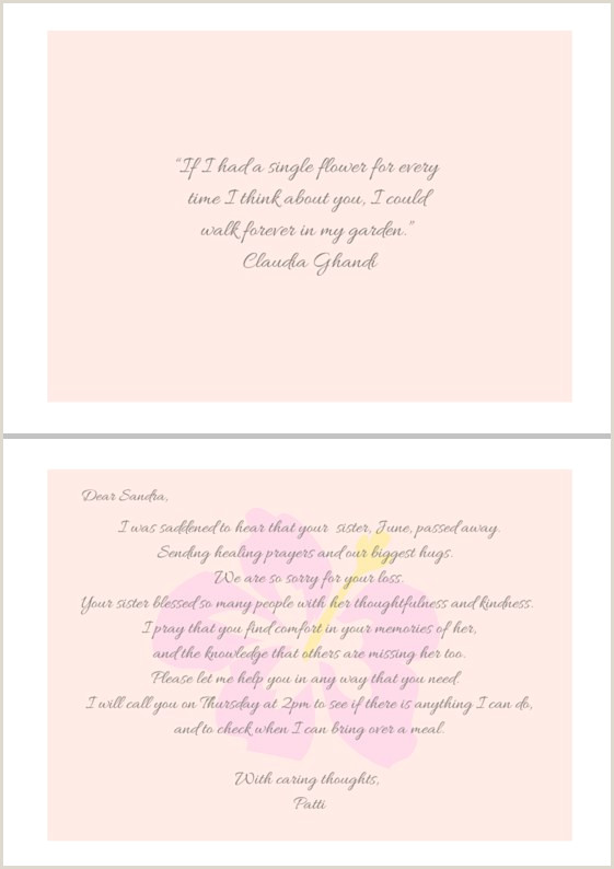 Card Of Thanks for Newspaper after Funeral 100 Best Sympathy Quotes