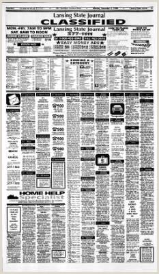 Lansing State Journal from Lansing Michigan on December 5