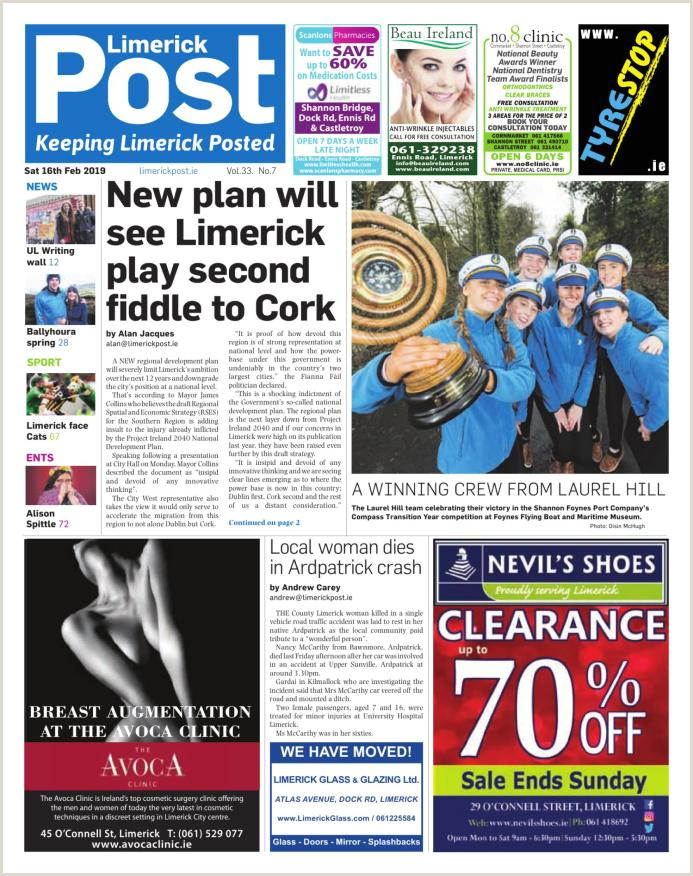 Limerick Post Newspaper