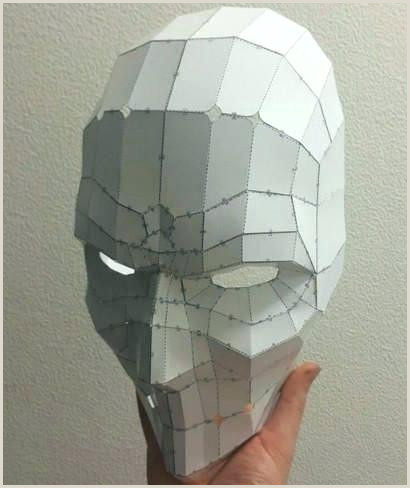 3d paper mask template free – atamvalves