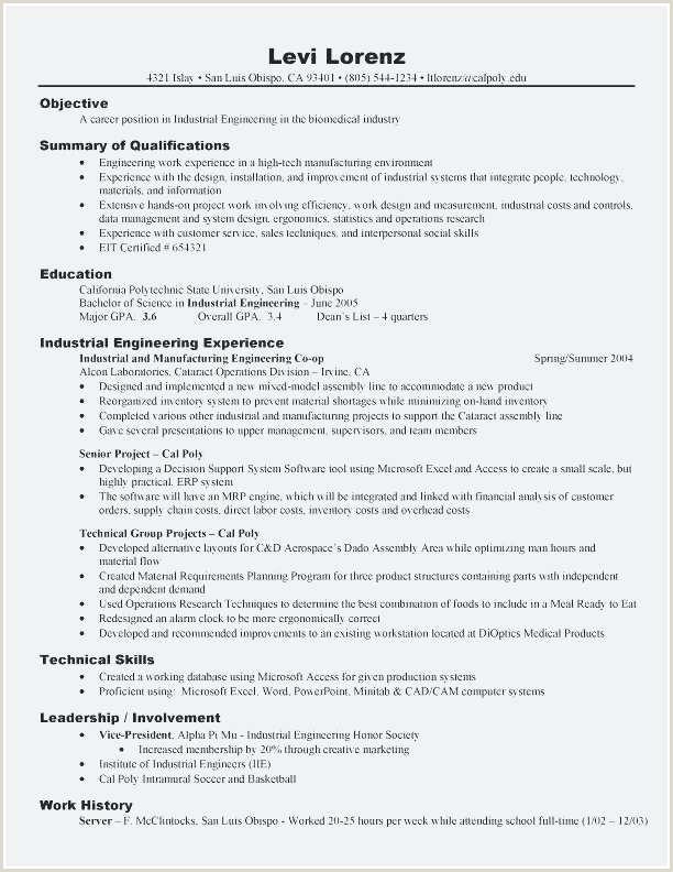 Career Objective for Computer Engineer Model D Un Cv Nouveau Modele Cv assistante Cv assistante De