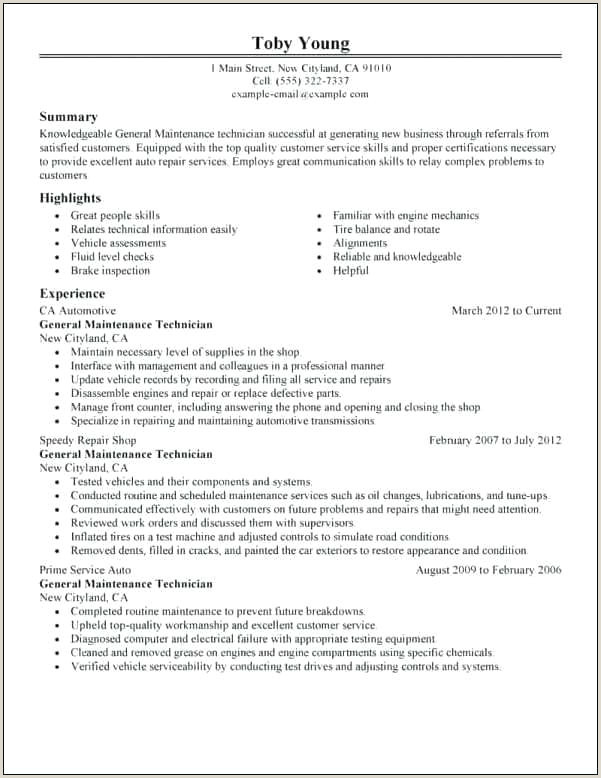 Career Objective for Engineer Automotive Resume Objective – Joefitnessstore