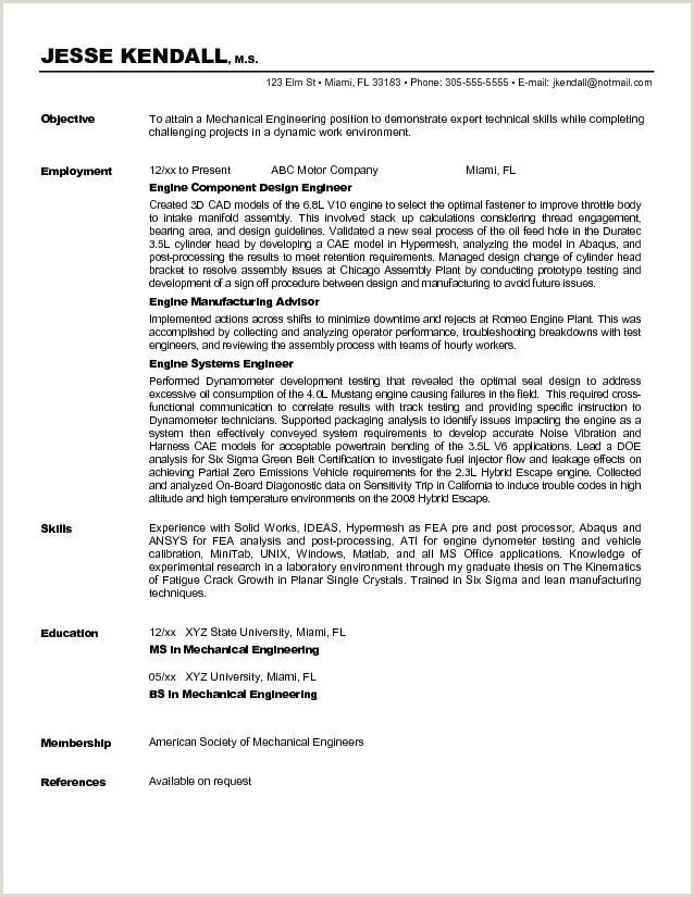 Career Objective for Engineer Resume Objective for Mechanical Engineer Trusted Essay