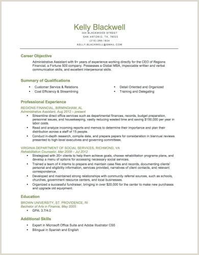 Career Objective for Finance Resume Resume Builder Free Resume Builder