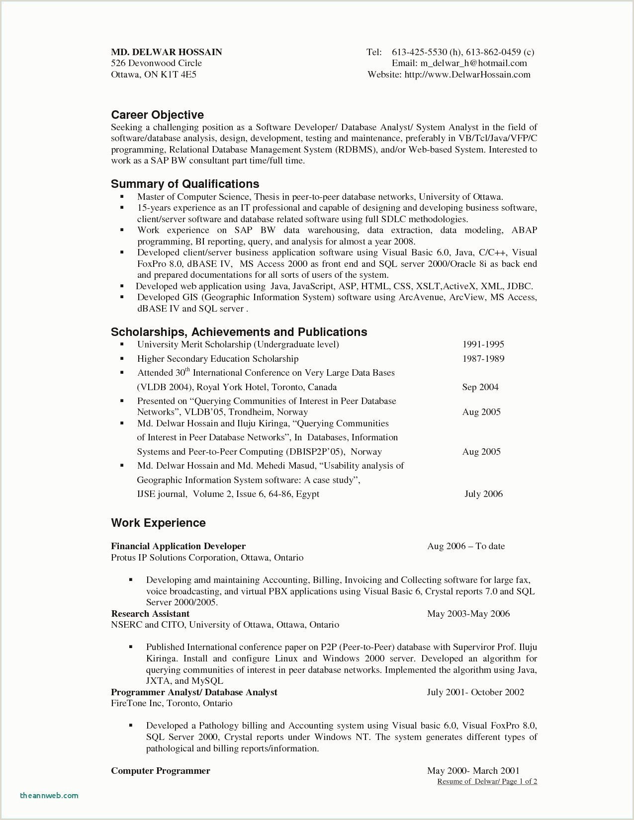 Resume Template for Financial Analyst Free 29 Fresh Career