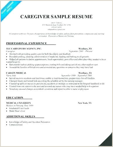Caregiver Resume Skills Child Caregiver Resume Job Description Samples Examples for