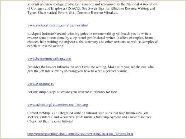 45 Luxury Create Resume for Job