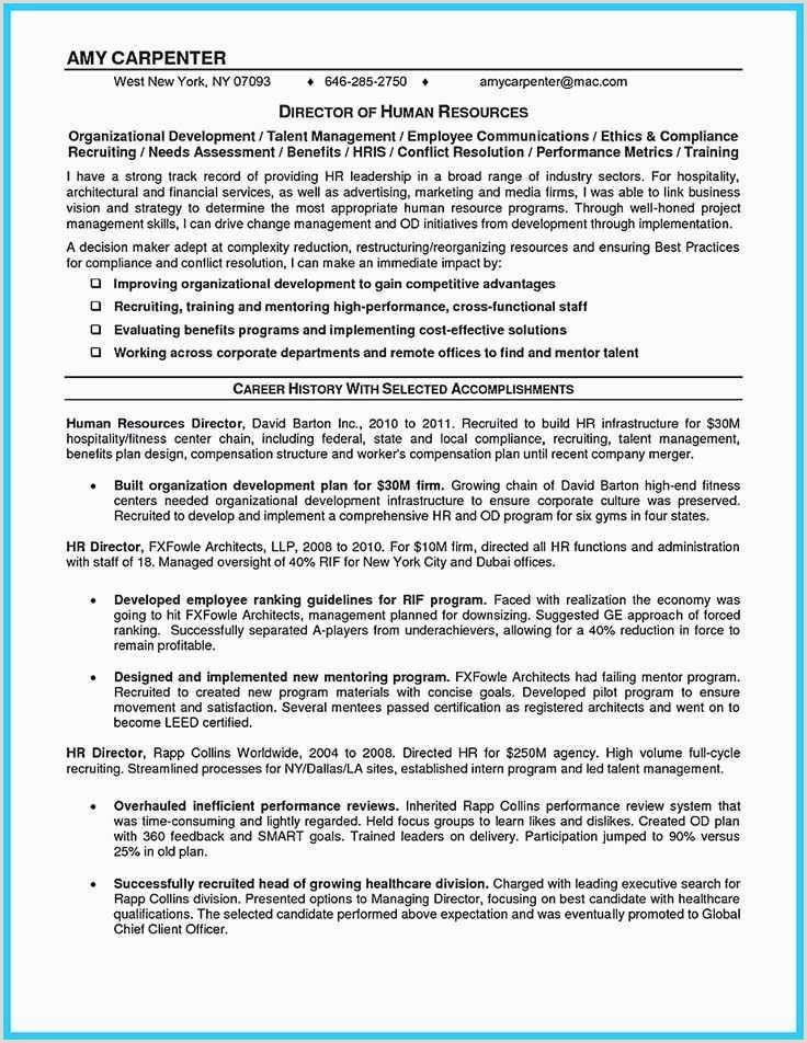 Carpenter Resume Examples New Resume for Carpenter – 62