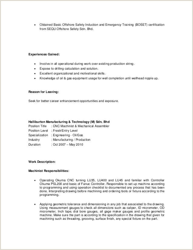 Catering Job Description for Resume Machine Operator Job Description for Resume Catering Job