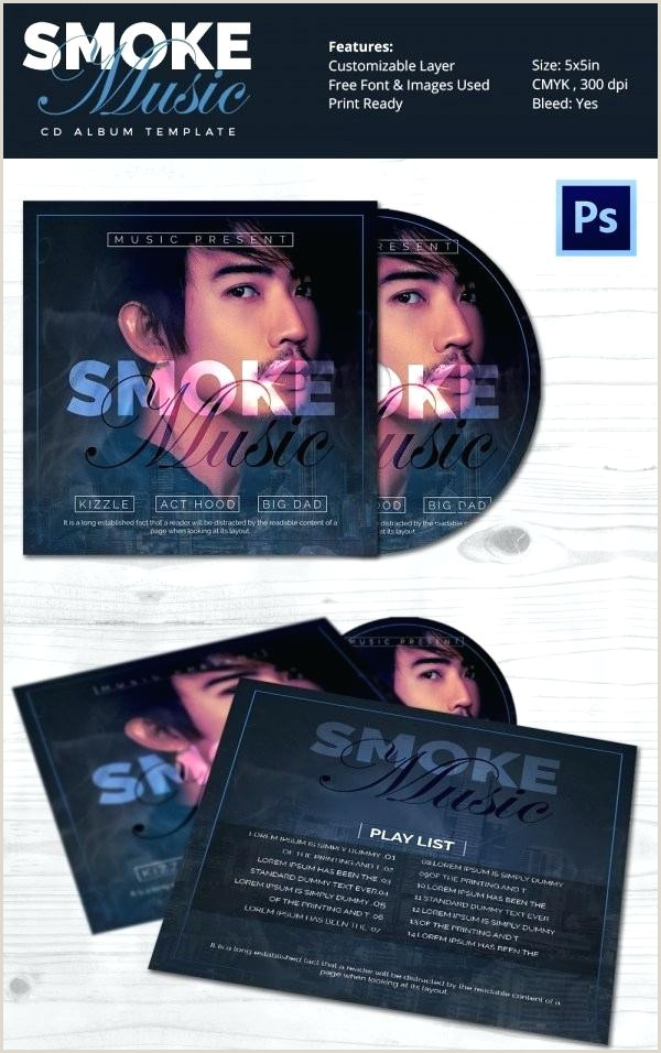 Cd Cover Design Template Psd Free Download Album Cover Template Psd Free Cd Label Shop Download