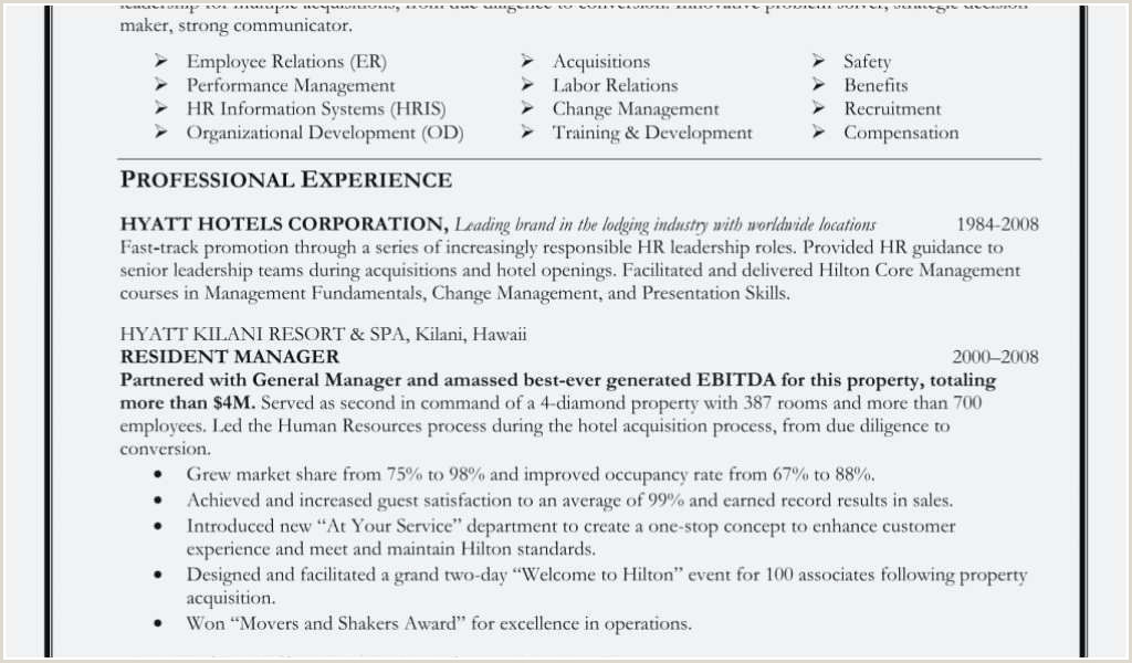 Change Management Resume Bullets Hr assistant Skills