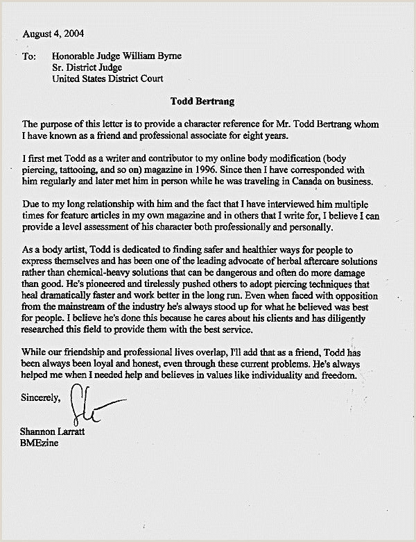 Letters judges before sentencing sample character letter for