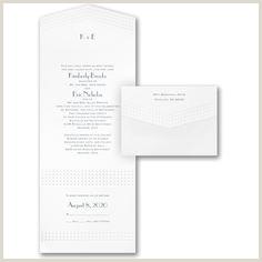 Embossed Wedding Invitations