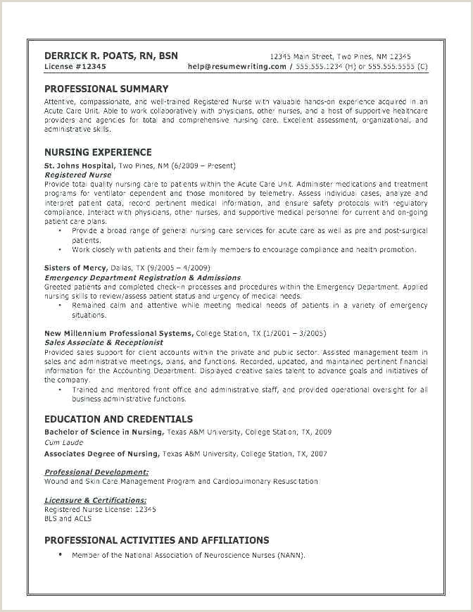 Template for Resume Free Sample Resume Layout Template Free
