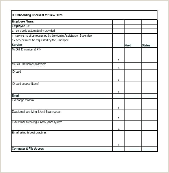 Checklist Template Word 2010 Physician Onboarding Checklist Template
