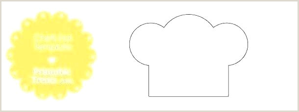 Chef Hat Printable Template Printable Hat Template