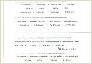 Chemistry Types Of Reactions Worksheet Types Chemical Reaction Worksheet Ch 7 Elegant Worksheet