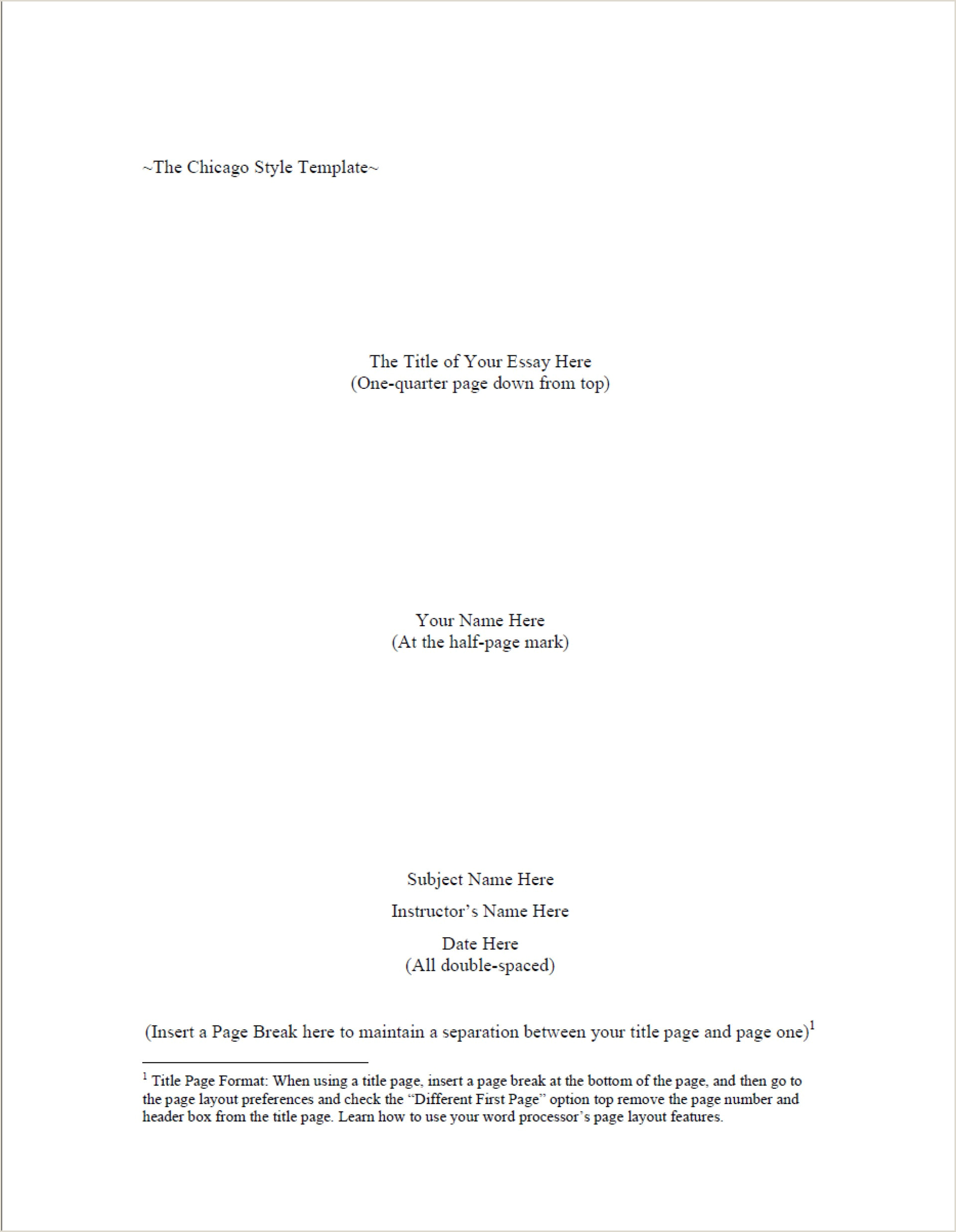 Chicago Style Template Doc 023 Research Paper Cover Page Beautiful Bunch Ideas Mla