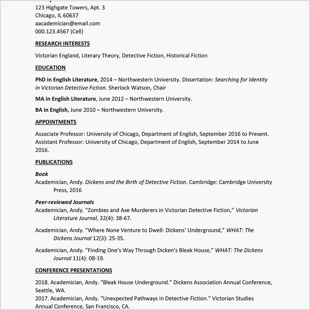 Chicago Style Template Doc Free Microsoft Curriculum Vitae Cv Templates