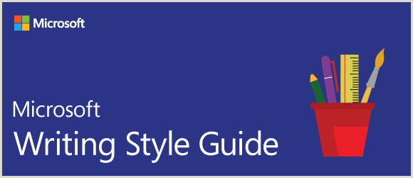 Chicago Style Template Doc Wel E Microsoft Style Guide
