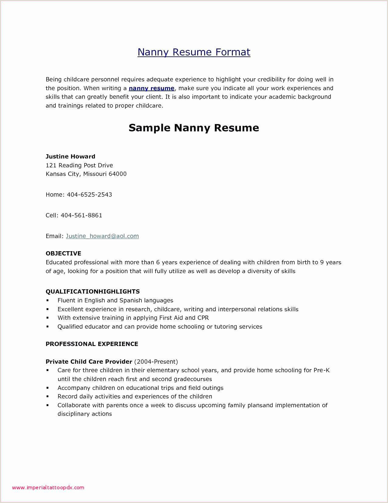 Resume Outlines Free Examples Work Resume Example List