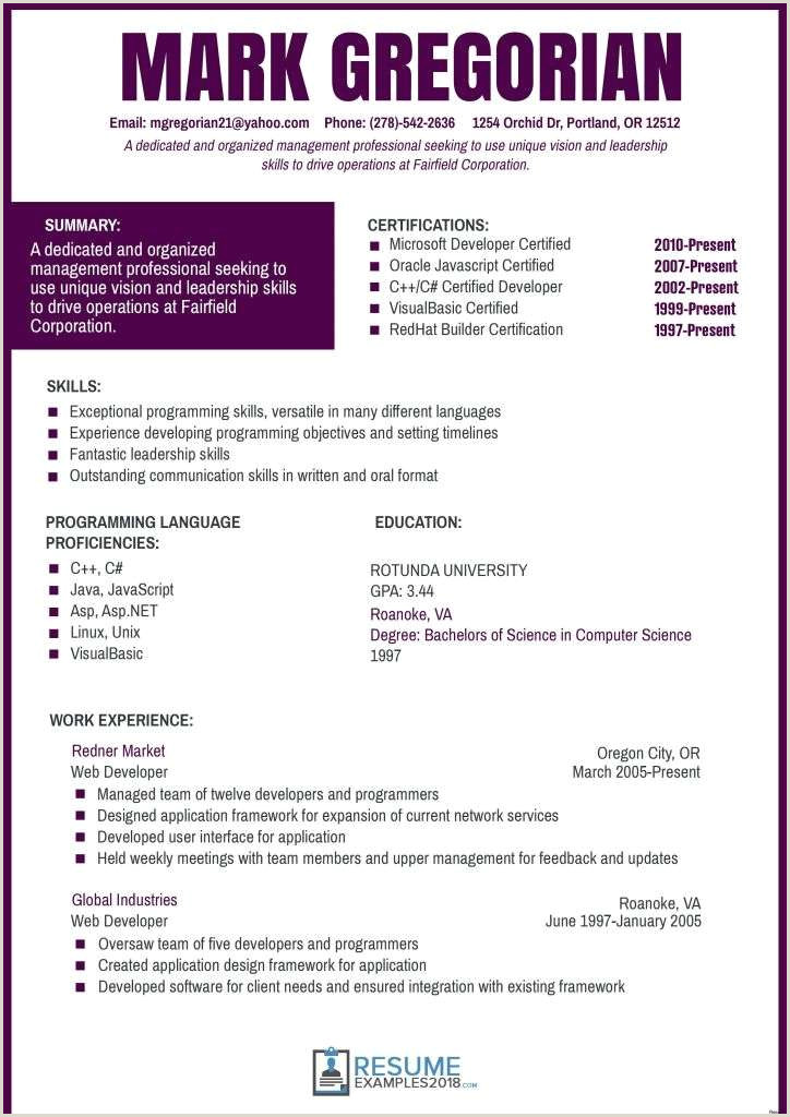 Science Resume Template Free Download 54 Professional Resume