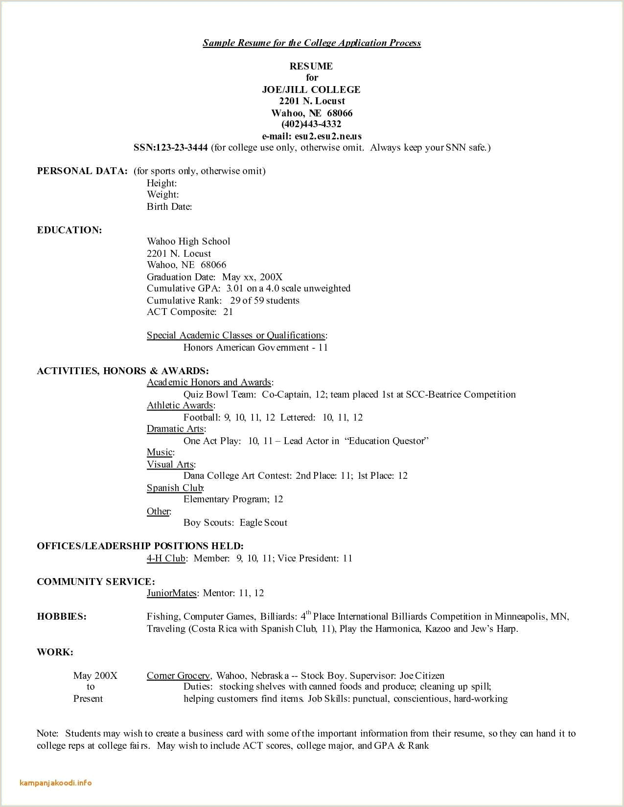 Child Care Resume Template Beautiful Resume Examples 0d Good