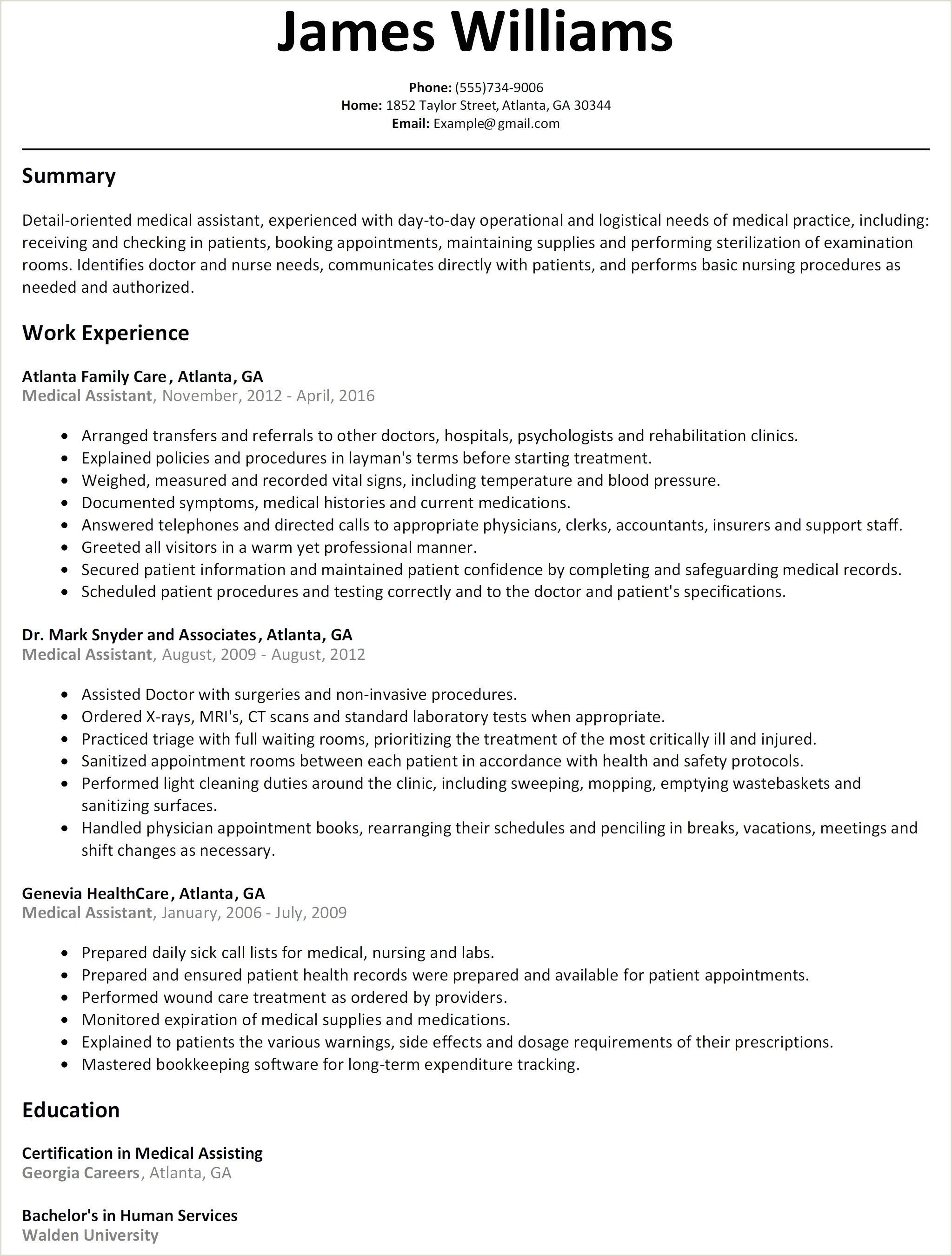 Child Care Resume Templates Good Resume Templates Free – Salumguilher