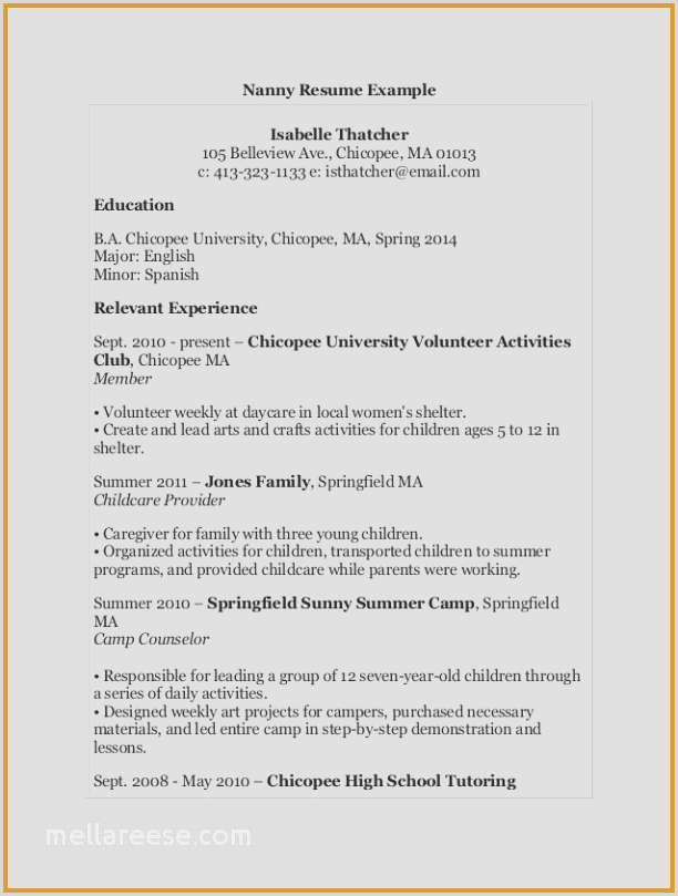 Volunteer Quotes Inspirational Camp Counselor Resume From